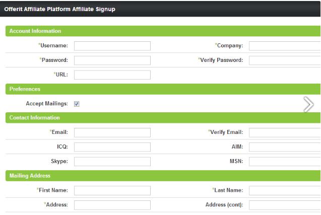 Offerit Affiliate Marketing Software addup affiliate